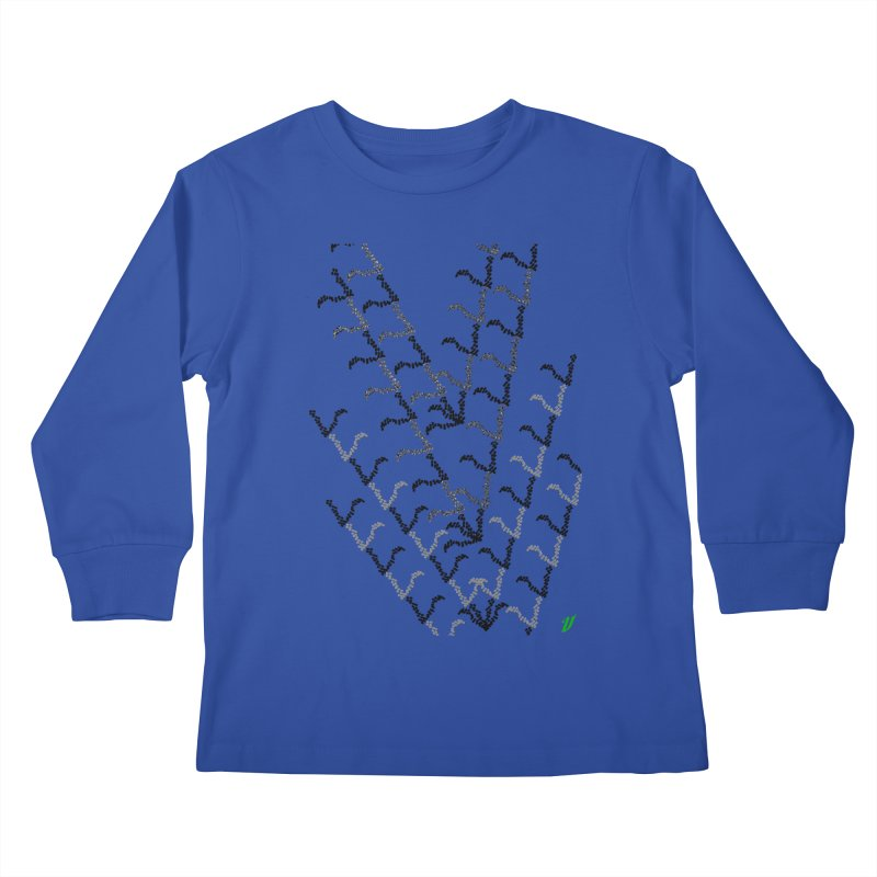 Migration Kids Longsleeve T-Shirt by MJAllAccess Designs