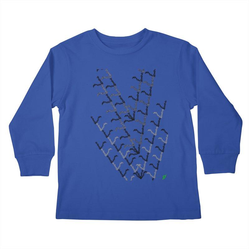 Migration Kids Longsleeve T-Shirt by MJAllAccess Designs