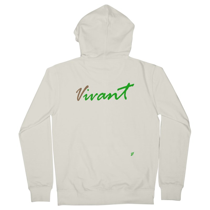 Built Solid Men's French Terry Zip-Up Hoody by MJAllAccess Designs