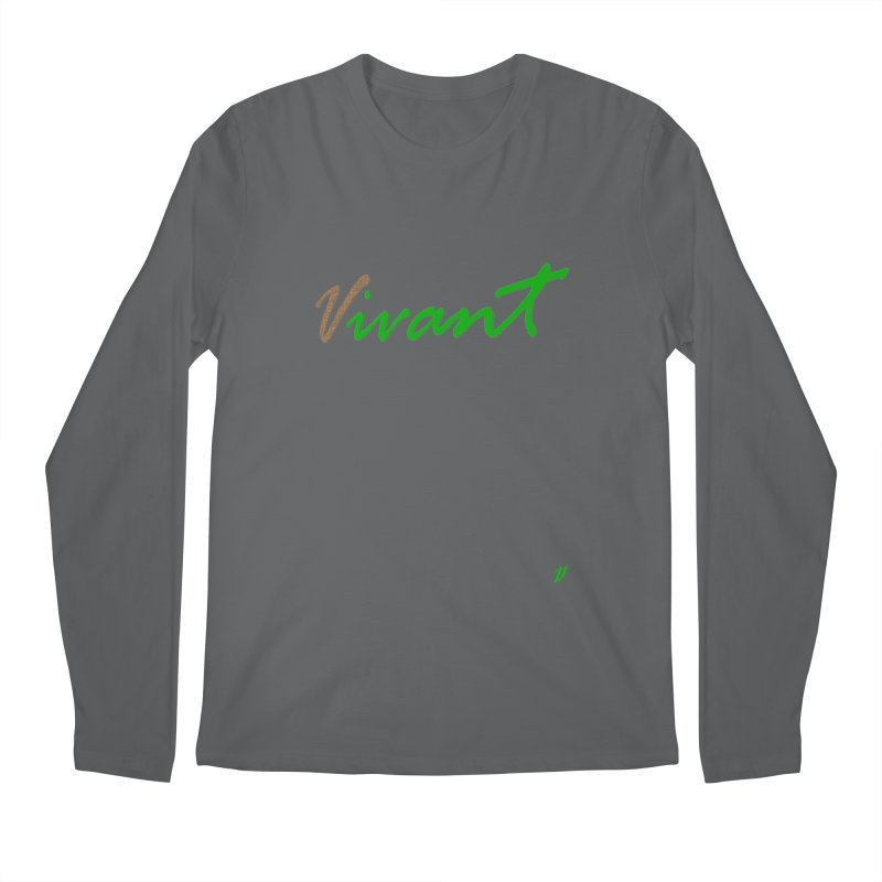 Built Solid Men's Regular Longsleeve T-Shirt by MJAllAccess Designs