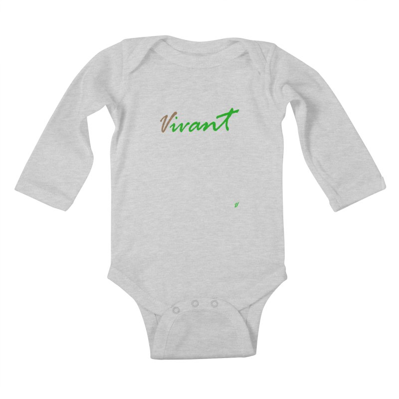 Built Solid Kids Baby Longsleeve Bodysuit by MJAllAccess Designs