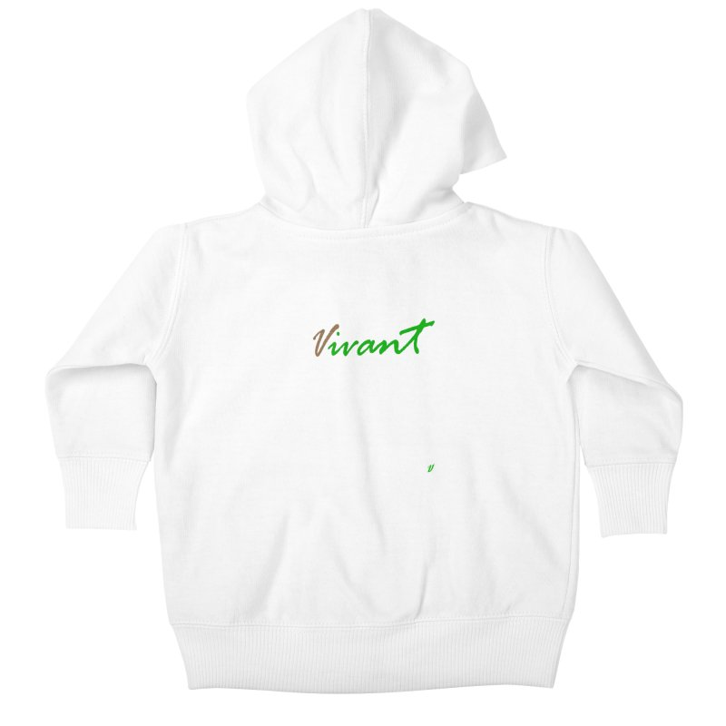 Built Solid Kids Baby Zip-Up Hoody by MJAllAccess Designs