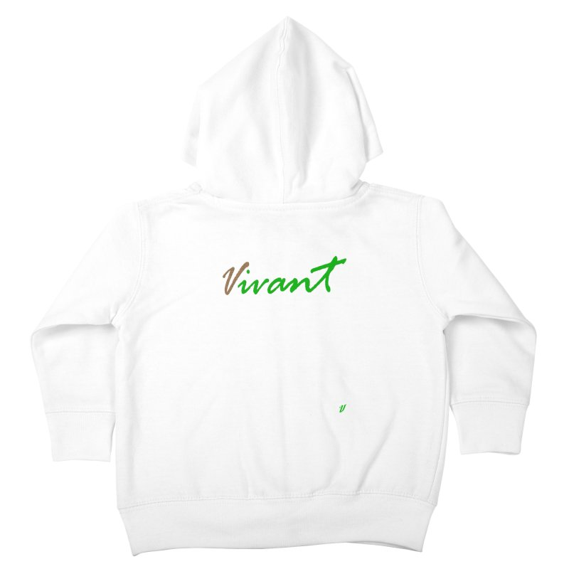 Built Solid Kids Toddler Zip-Up Hoody by MJAllAccess Designs