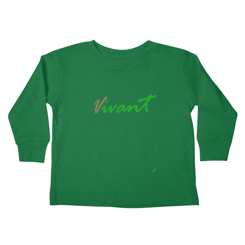 Built Solid Kids Toddler Longsleeve T-Shirt by MJAllAccess Designs