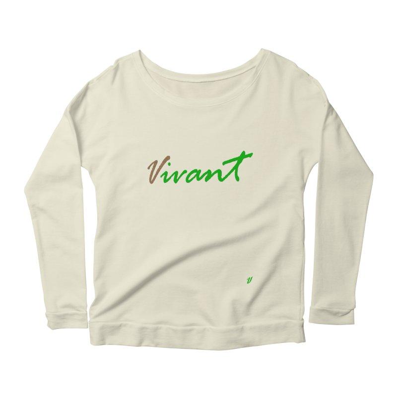 Built Solid Women's Scoop Neck Longsleeve T-Shirt by MJAllAccess Designs
