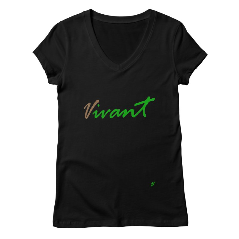 Built Solid Women's Regular V-Neck by MJAllAccess Designs