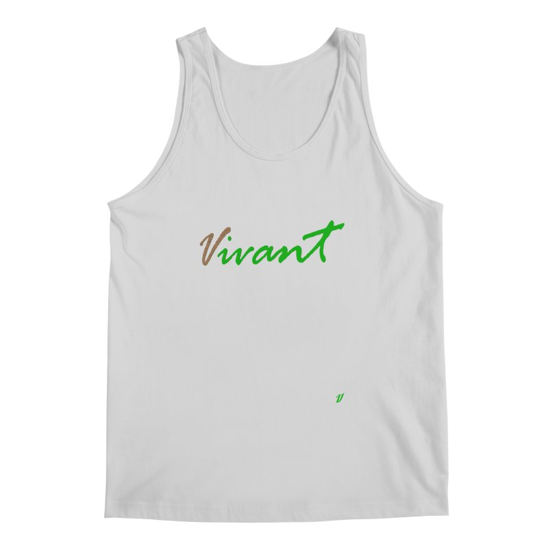 Built Solid Men's Regular Tank by MJAllAccess Designs