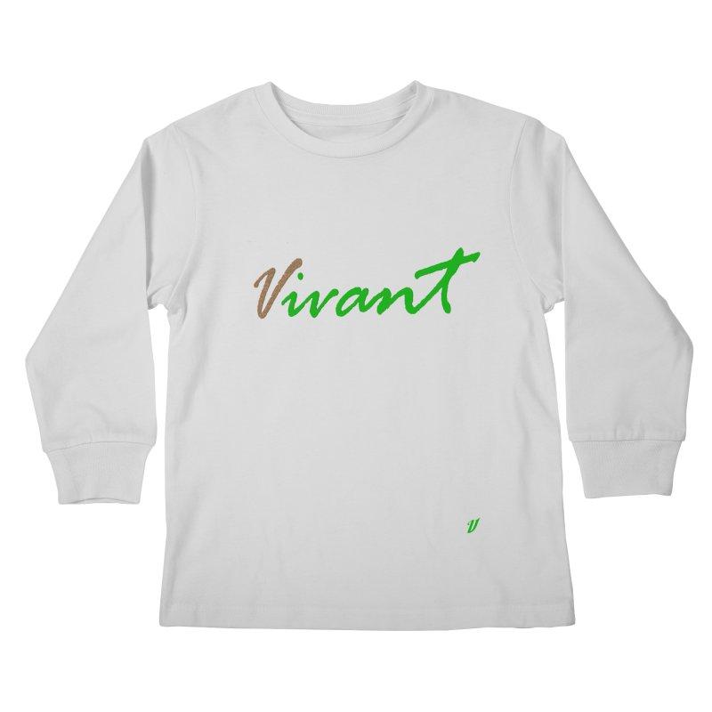 Built Solid Kids Longsleeve T-Shirt by MJAllAccess Designs