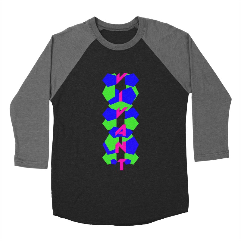 Alive Men's Baseball Triblend Longsleeve T-Shirt by MJAllAccess Designs