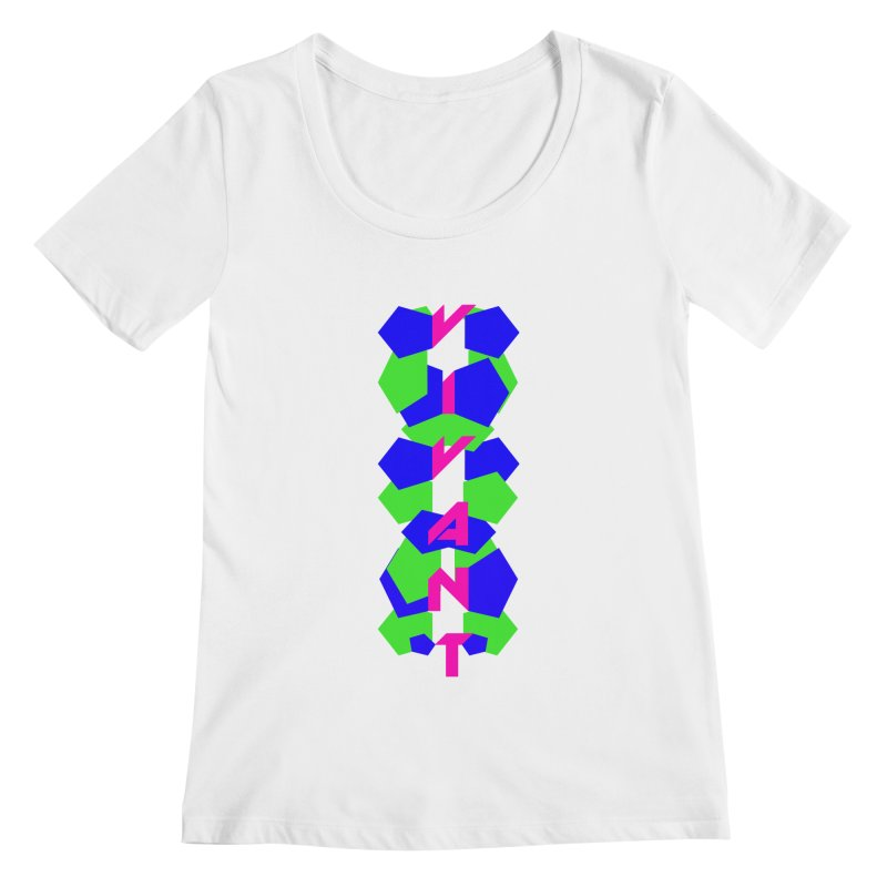 Alive Women's Regular Scoop Neck by MJAllAccess Designs
