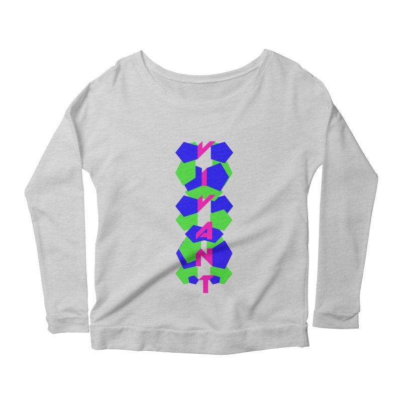 Alive Women's Longsleeve Scoopneck  by MJAllAccess Designs