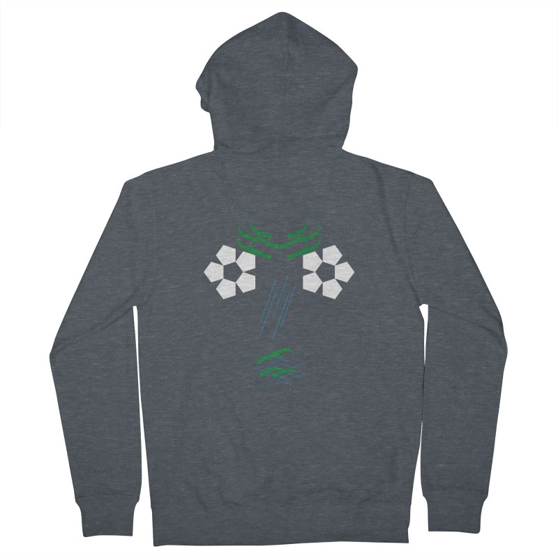 Nature Look Women's French Terry Zip-Up Hoody by MJAllAccess Designs
