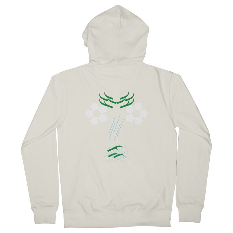 Nature Look Men's French Terry Zip-Up Hoody by MJAllAccess Designs