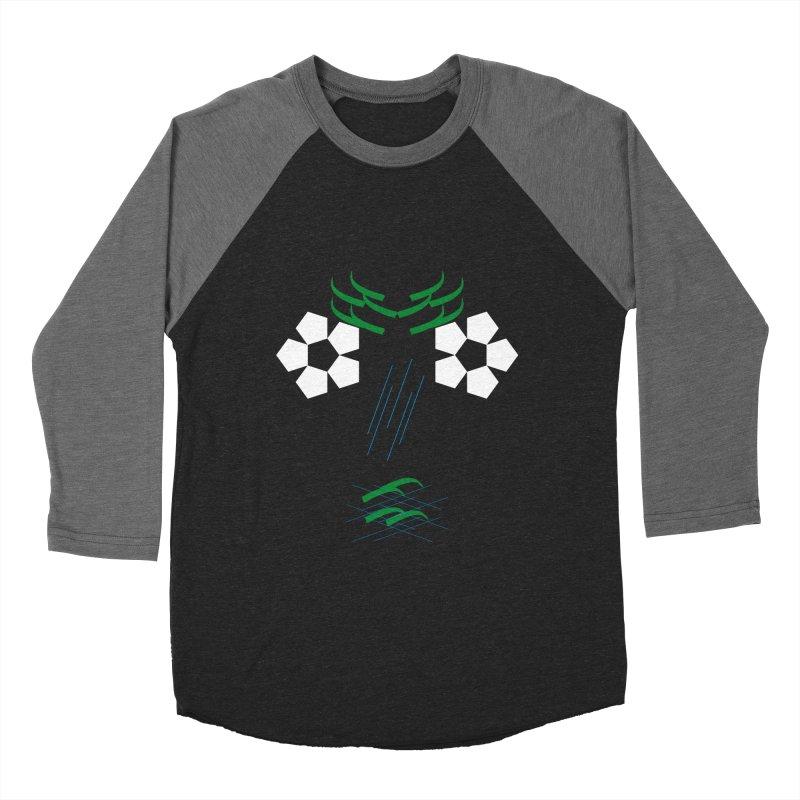 Nature Look Women's Baseball Triblend Longsleeve T-Shirt by MJAllAccess Designs
