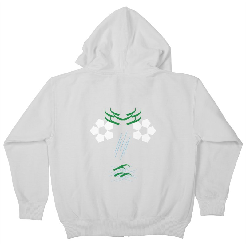 Nature Look Kids Zip-Up Hoody by MJAllAccess Designs