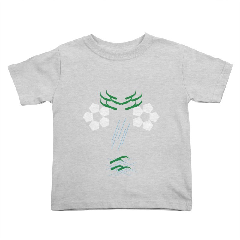 Nature Look in Kids Toddler T-Shirt Heather Grey by MJAllAccess Designs