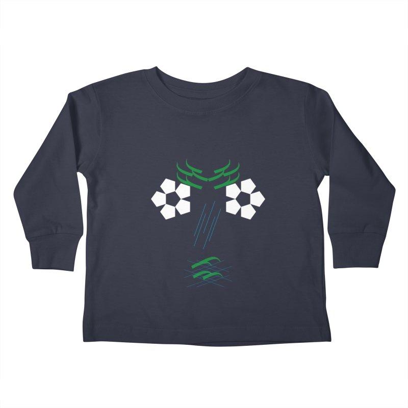 Nature Look Kids Toddler Longsleeve T-Shirt by MJAllAccess Designs