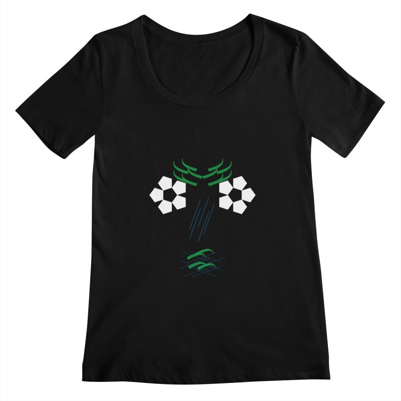 Nature Look Women's Scoopneck by MJAllAccess Designs