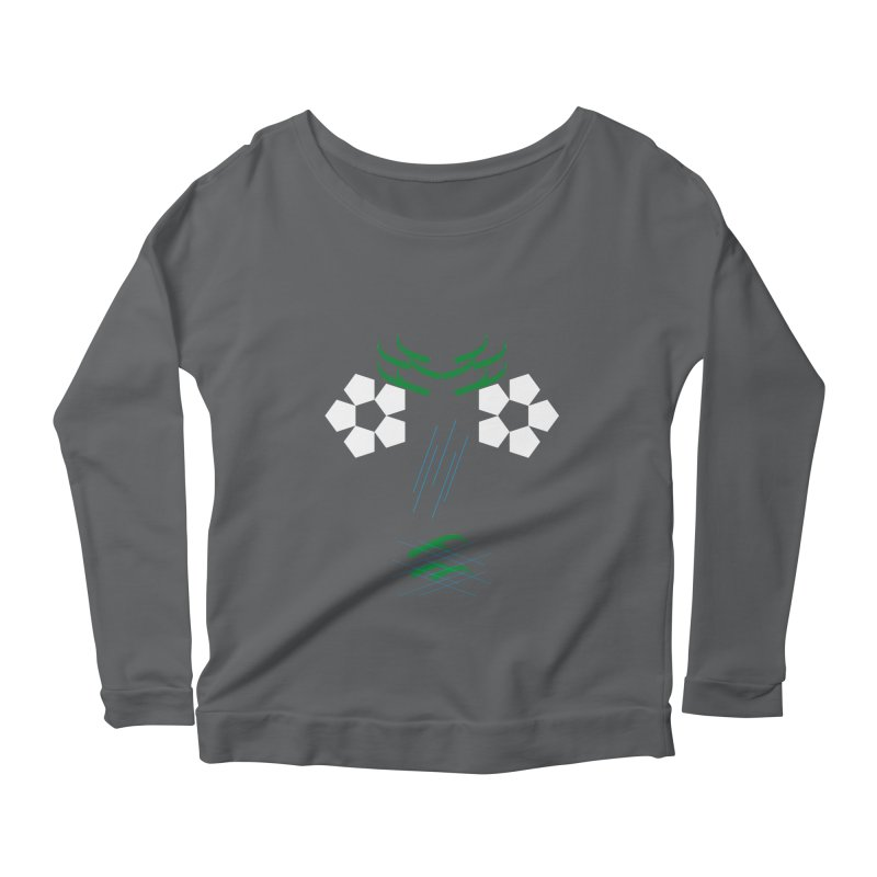 Nature Look Women's Longsleeve Scoopneck  by MJAllAccess Designs