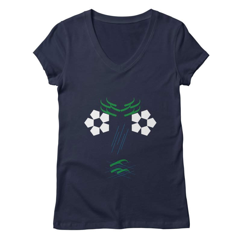 Nature Look Women's Regular V-Neck by MJAllAccess Designs