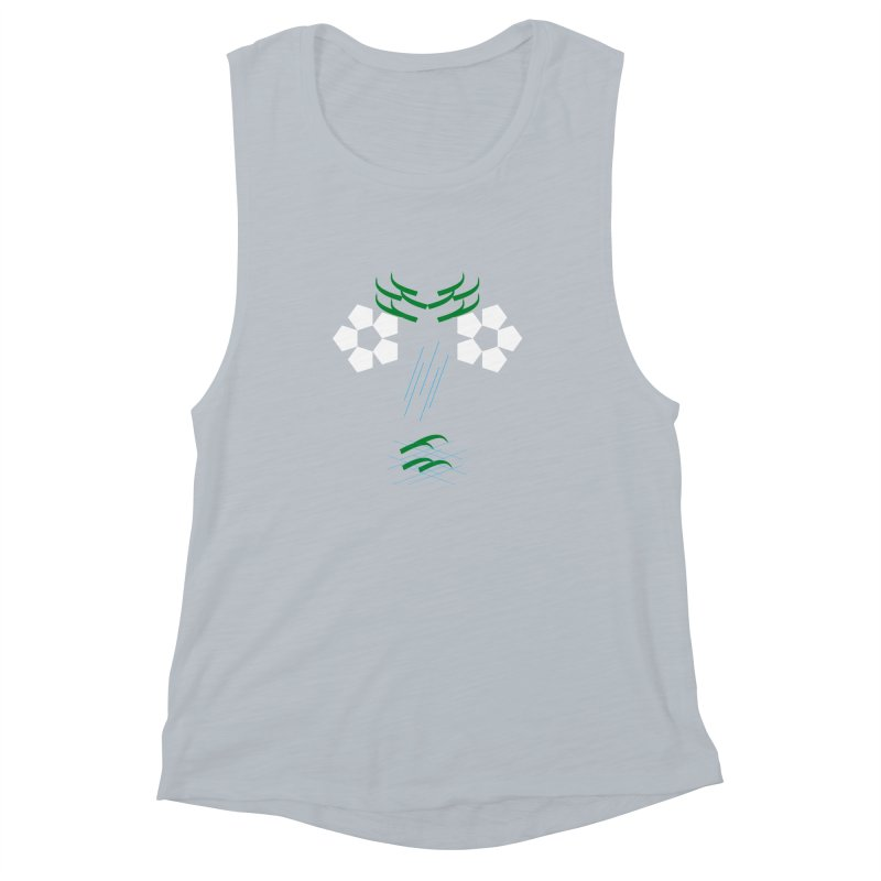 Nature Look Women's Muscle Tank by MJAllAccess Designs
