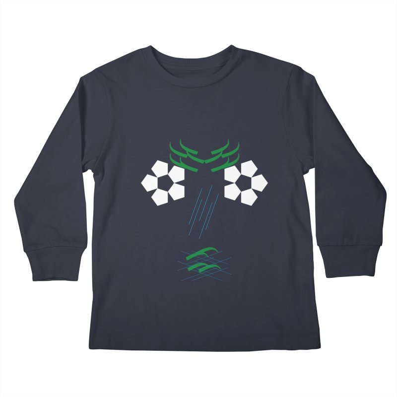 Nature Look Kids Longsleeve T-Shirt by MJAllAccess Designs