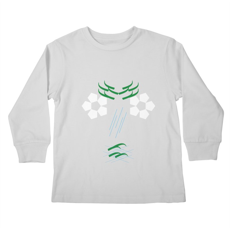 Nature Look Kids Longsleeve T-Shirt by MJAllAccess Designs