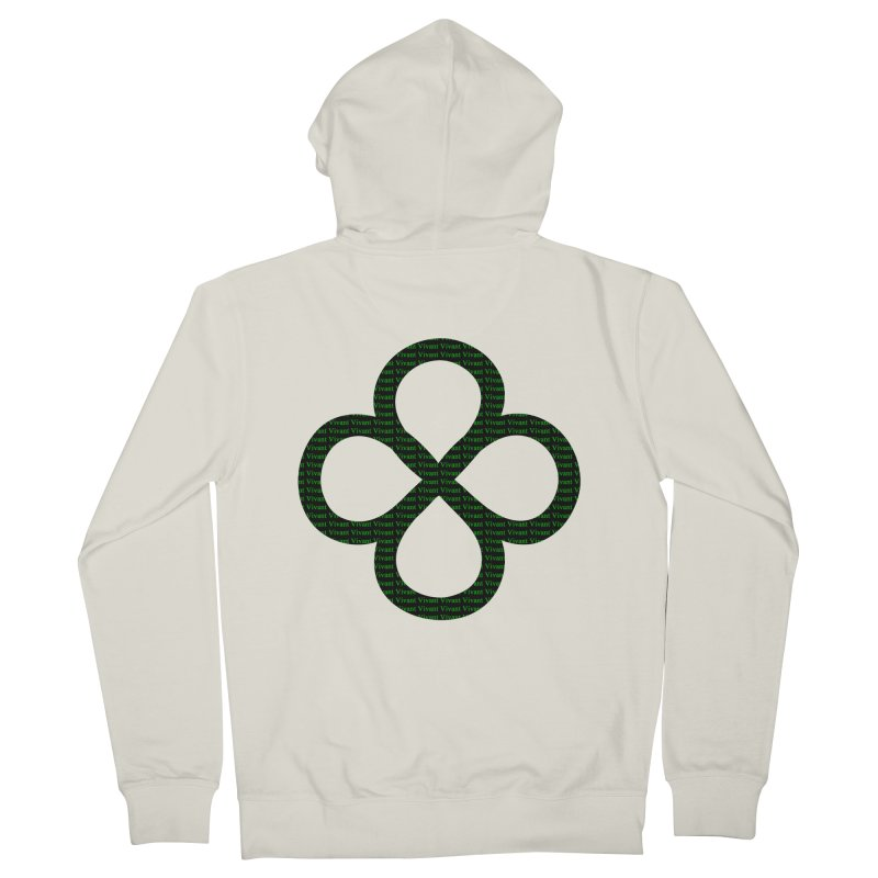 Infinity Men's French Terry Zip-Up Hoody by MJAllAccess Designs