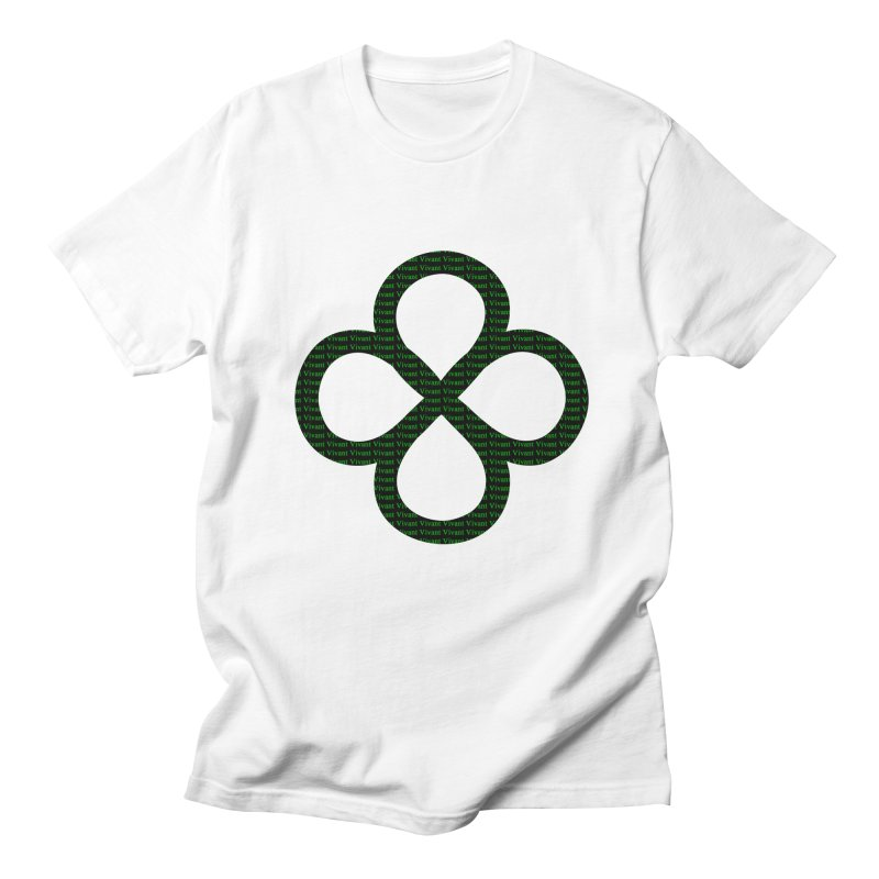 Infinity in Men's Regular T-Shirt White by MJAllAccess Designs