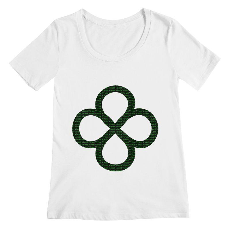 Infinity Women's Regular Scoop Neck by MJAllAccess Designs