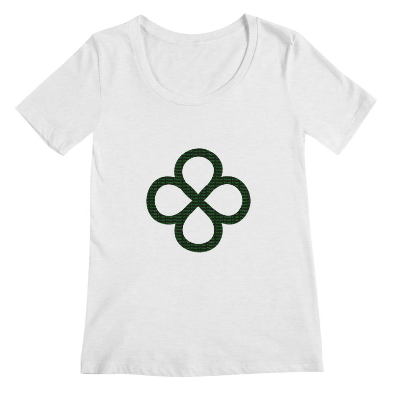 Infinity Women's Regular Scoop Neck by MJAllAccess Designs