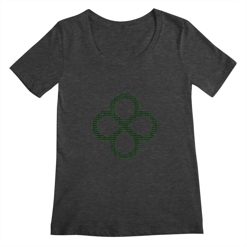 Infinity Women's Scoopneck by MJAllAccess Designs