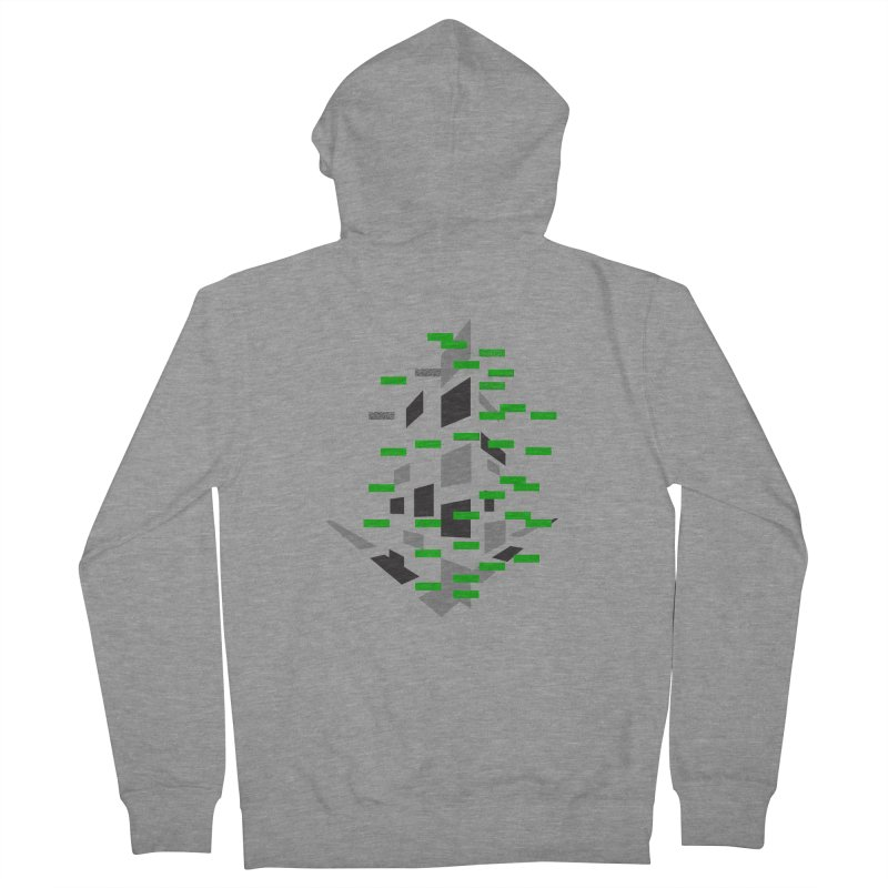 Perspective Women's French Terry Zip-Up Hoody by MJAllAccess Designs