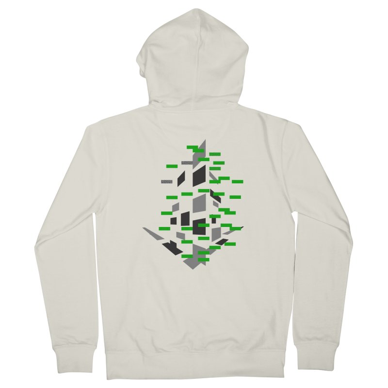 Perspective Men's French Terry Zip-Up Hoody by MJAllAccess Designs