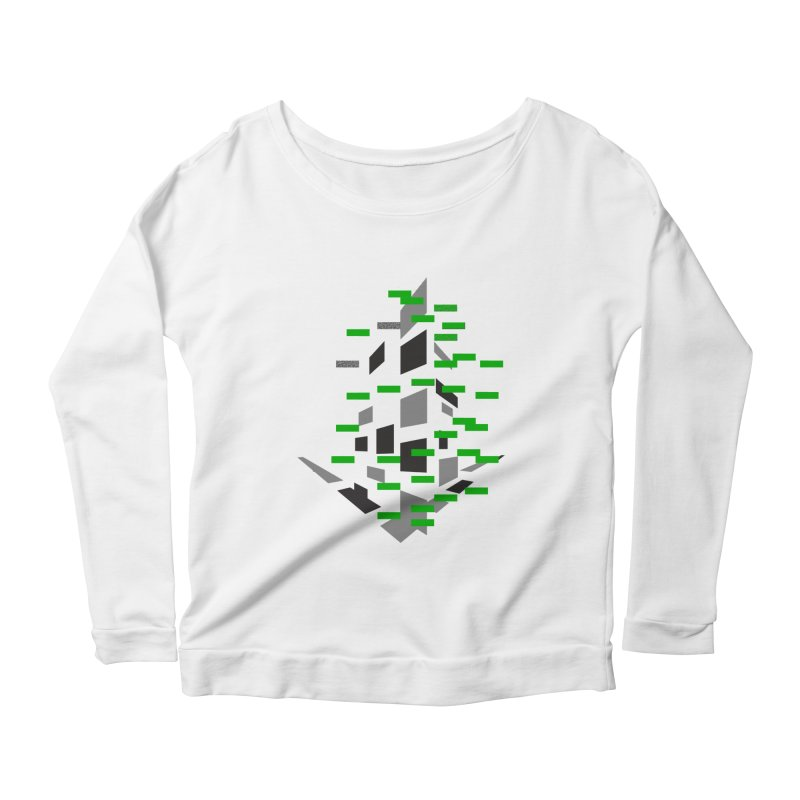 Perspective Women's Longsleeve Scoopneck  by MJAllAccess Designs