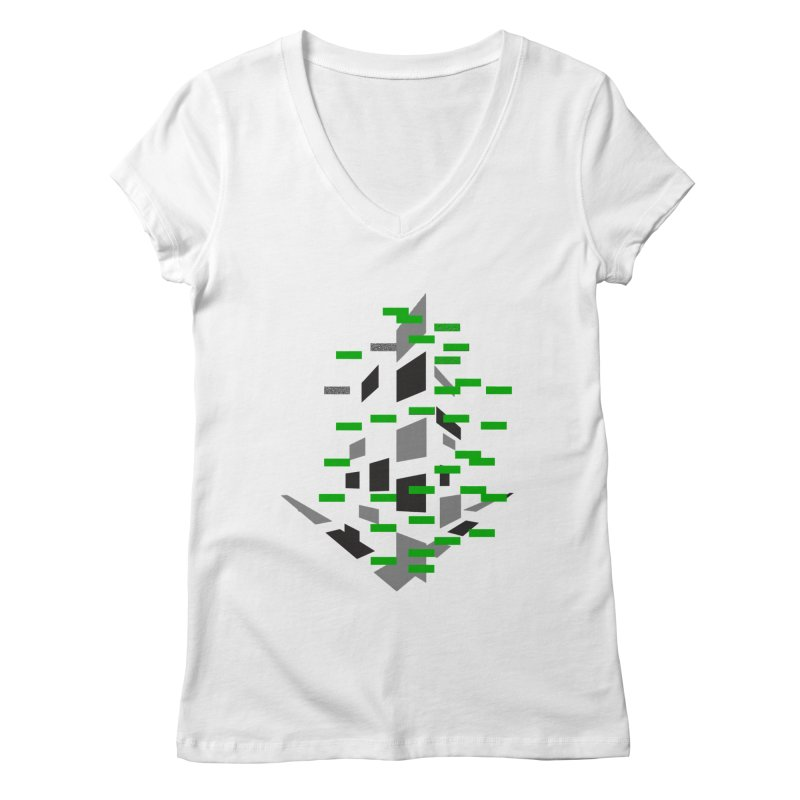 Perspective Women's Regular V-Neck by MJAllAccess Designs
