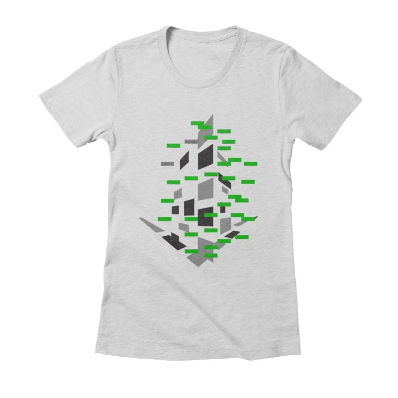 Perspective Women's Fitted T-Shirt by MJAllAccess Designs