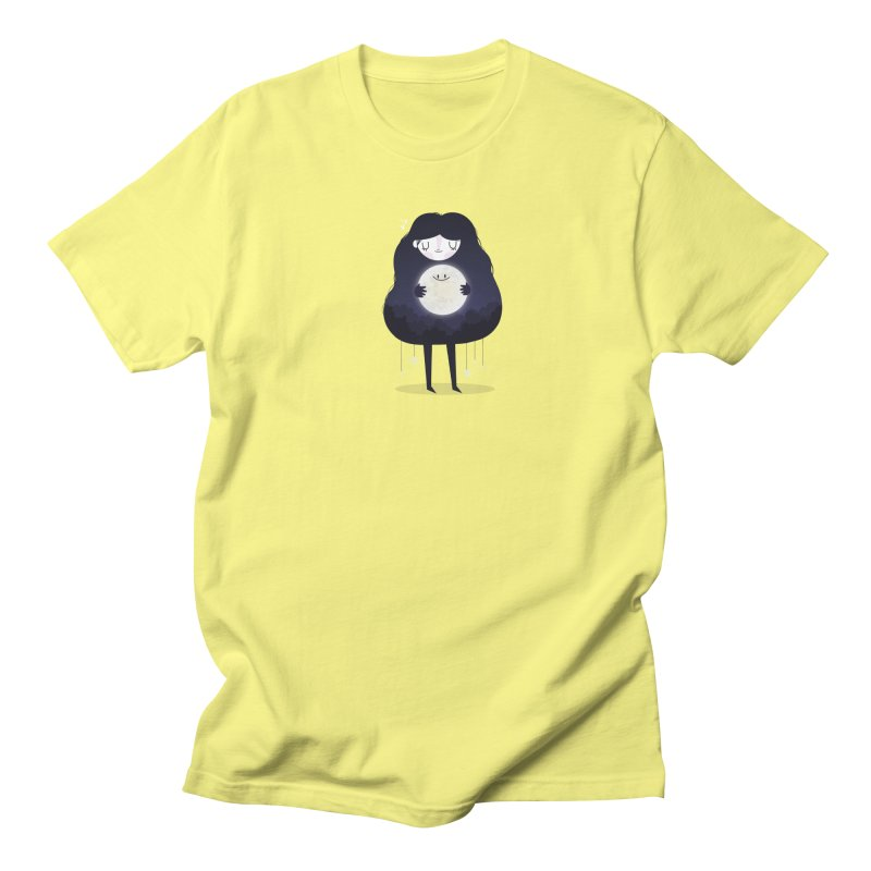 Hug the moon Women's Unisex T-Shirt by Maria Jose Da Luz