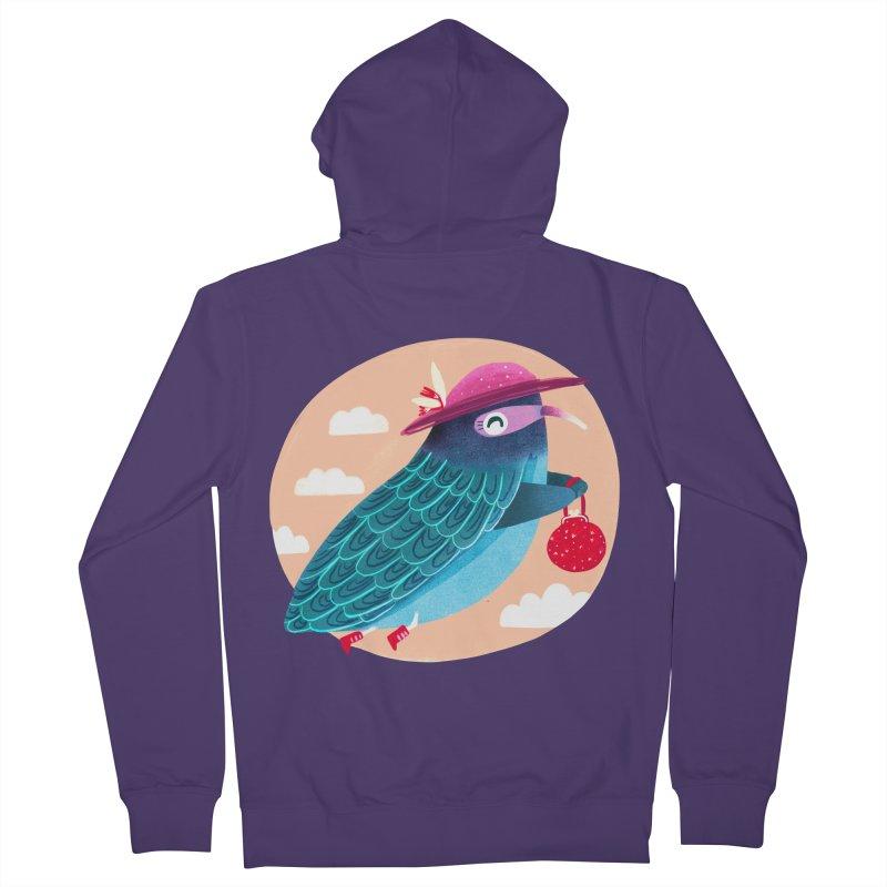 Ms.pigeon Women's Zip-Up Hoody by Maria Jose Da Luz
