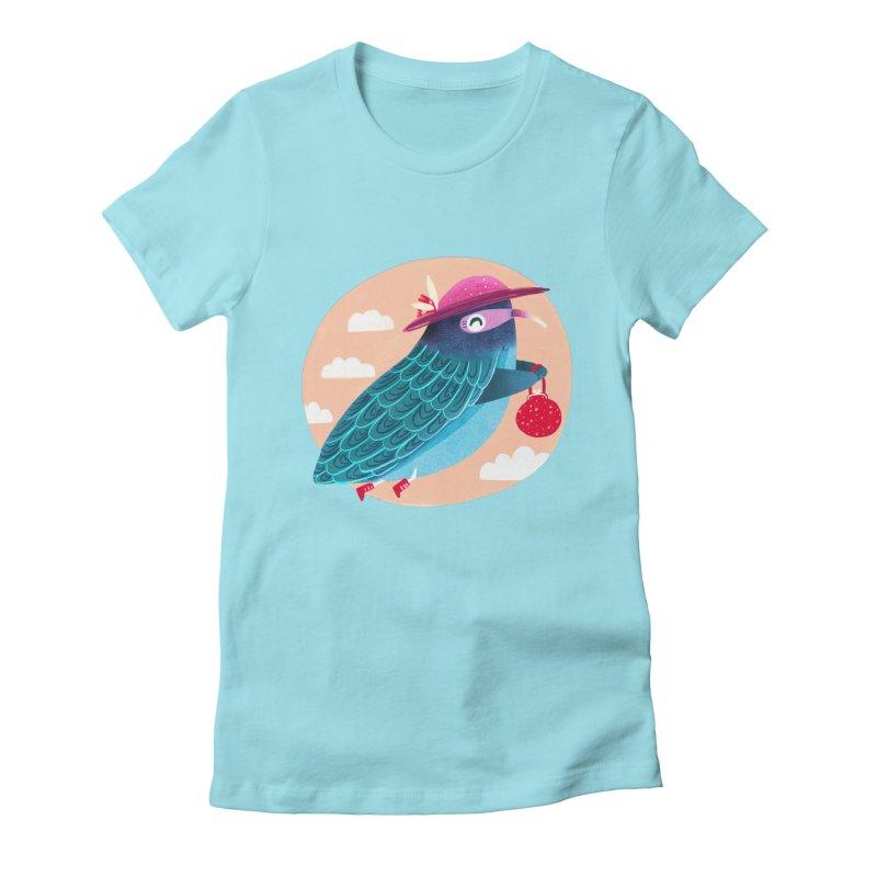 Ms.pigeon Women's T-Shirt by Maria Jose Da Luz