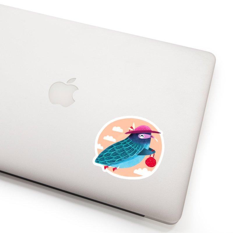 Ms.pigeon Accessories Sticker by Maria Jose Da Luz