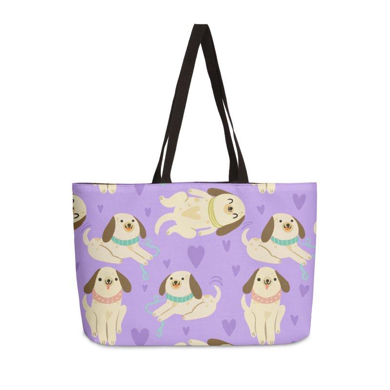 International dog day Accessories Bag by Maria Jose Da Luz