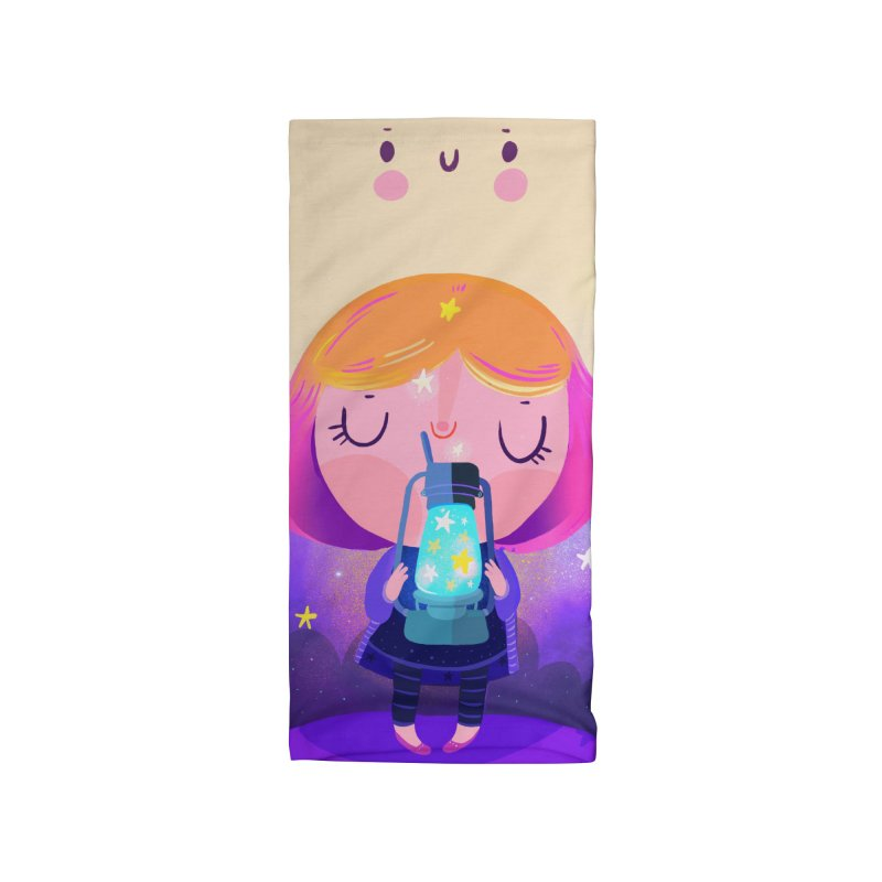 Magic moon Accessories Neck Gaiter by Maria Jose Da Luz
