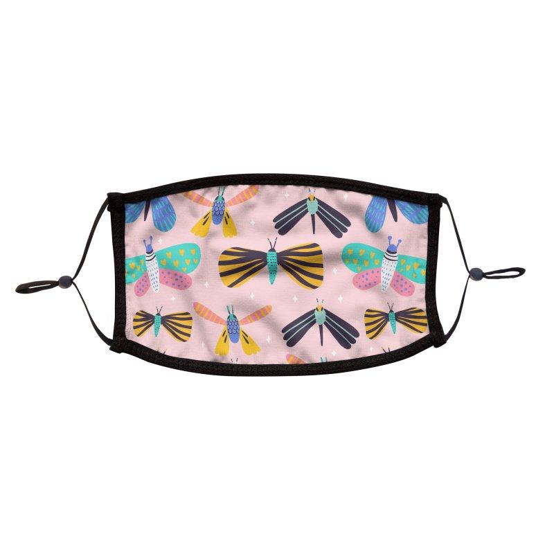 Polillas Accessories Face Mask by Maria Jose Da Luz