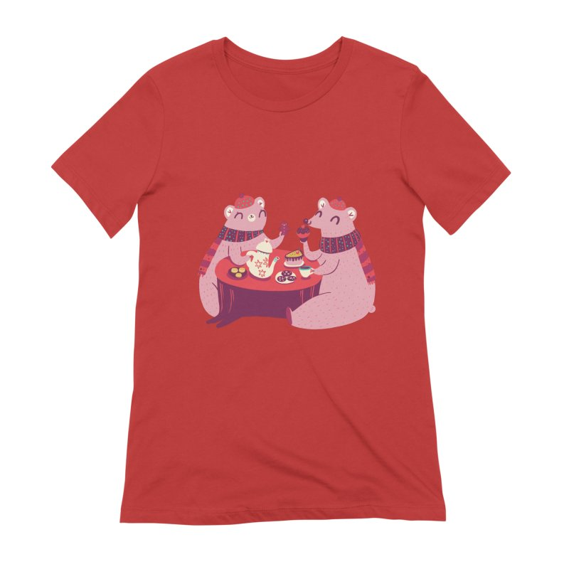 Beary hungry Women's T-Shirt by Maria Jose Da Luz