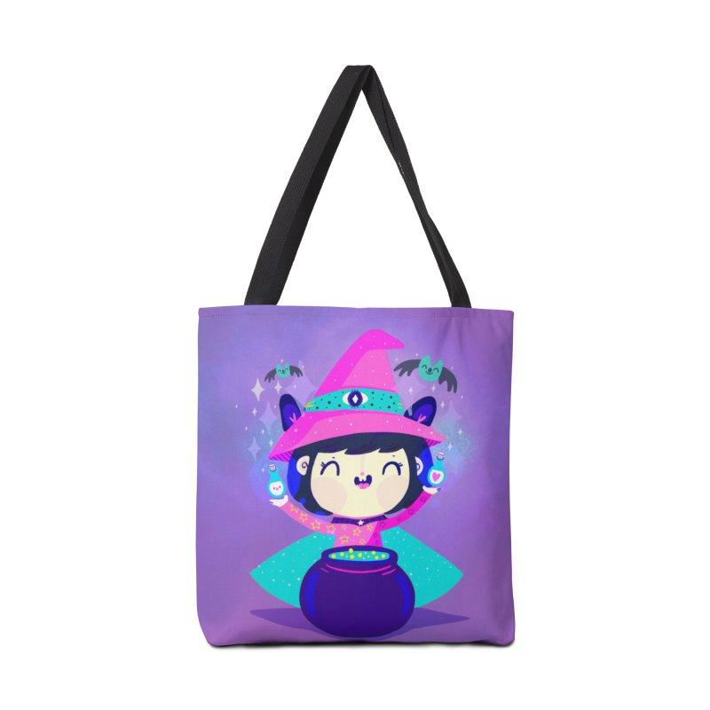 Little witch Accessories Bag by Maria Jose Da Luz