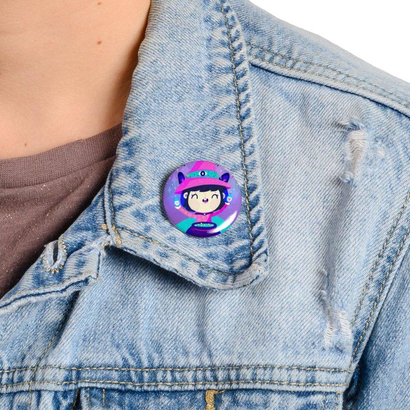 Little witch Accessories Button by Maria Jose Da Luz