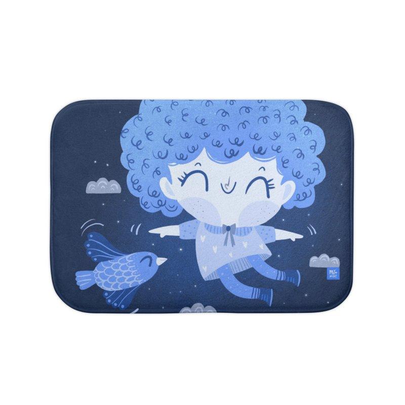 Freedom Home Bath Mat by Maria Jose Da Luz