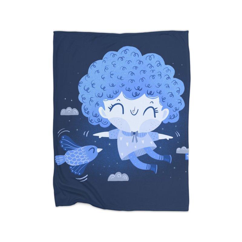 Freedom Home Blanket by Maria Jose Da Luz