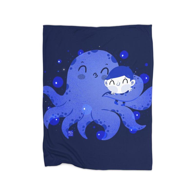 Hugs Home Blanket by Maria Jose Da Luz